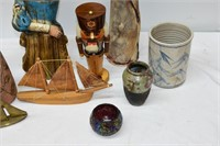 Group of Vases, Pottery & Household Décor