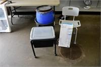 Garbage Can, Tub Seat, Space Saver Shelf, etc.