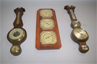 (3) Thermometers/Barometers