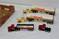 Tray of Shell & Texaco Trucks