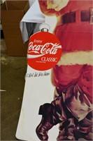 Coca Cola Santa Clause Display 3'x6'