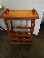Wine Rack with Removable Tray
