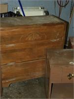 Old Dresser & End Tables