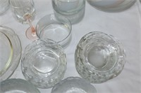 Glass Bowls, Fruit Nappies, Serving Dishes etc.