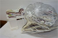 Large Grouping of Clothes Hangers