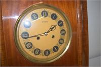 """Monroe Wooden Wall Clock 16.5"""" x 20"""""""