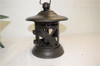 (3) Cast Iron Garden Lanterns