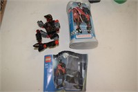(3) Lego Figures with Manuals