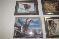 (6) Bradford Exchange Plates & (1) Collector's