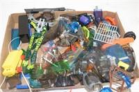 Box of Assorted Lego Pieces, etc.