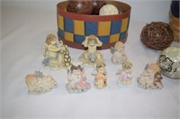 Collection of Heavenly Angels Figurines,