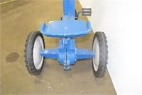 "Child's Toy Farm Tractor 32"" L x 25"" H"