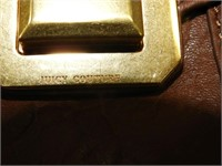 Cognac Leather Juicy couture Hand Bag * NWT