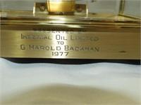 1977 Imperial Oil Presentation Clock