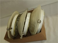 (3) Matching Ceiling Fixtures
