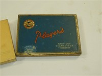 Cigarette Tins-Players & State Express