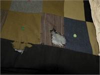 """Vintage Quilt (mens suits 67"""" X54""""), Lace Cloth"""