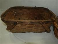 """Vintage Apple Basket & Decorative Basket 18"""" l"""