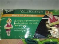 Wind Designs- Beach Betty Porch Patio Decoration
