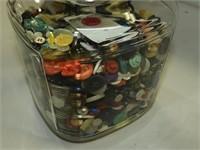1930's-40's Anchor Hocking Glass Cookie Jar