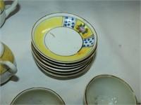 Tea Set Children's China from Japan