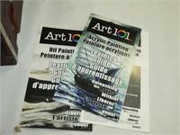 Watercolours Art 101 & Easel (used)