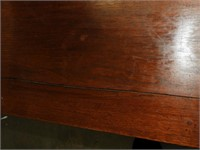 Vintage Base Table from a Shelf with Drawer
