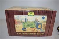 """John Deere Model """"B"""" Tractor by Franklin Mint"""