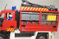 Mercedes Benz Fire Truck with Accessories