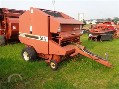 HESSTON Round Balers Auction Results - 73 Listings