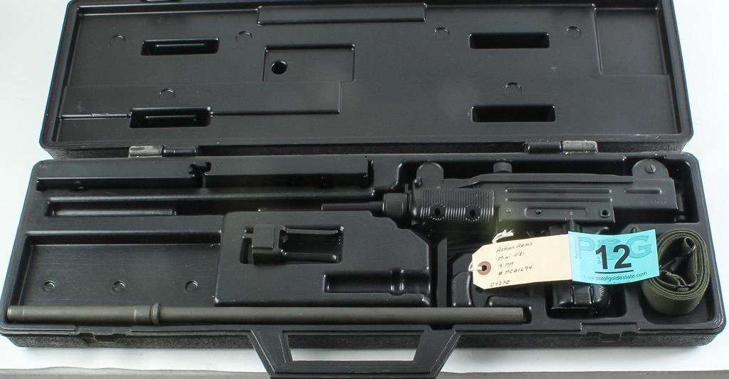 Gun Action Arms Mini Uzi In 9mm Semi Auto Rifle Azfirearmscompot