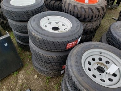 4) NEW ST225/75/R15 WHEELS AND TIRES Other Auction Results - 2