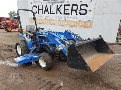 New Holland Tc24da 4X4 W/Ldr/Belly Mower Other ... on