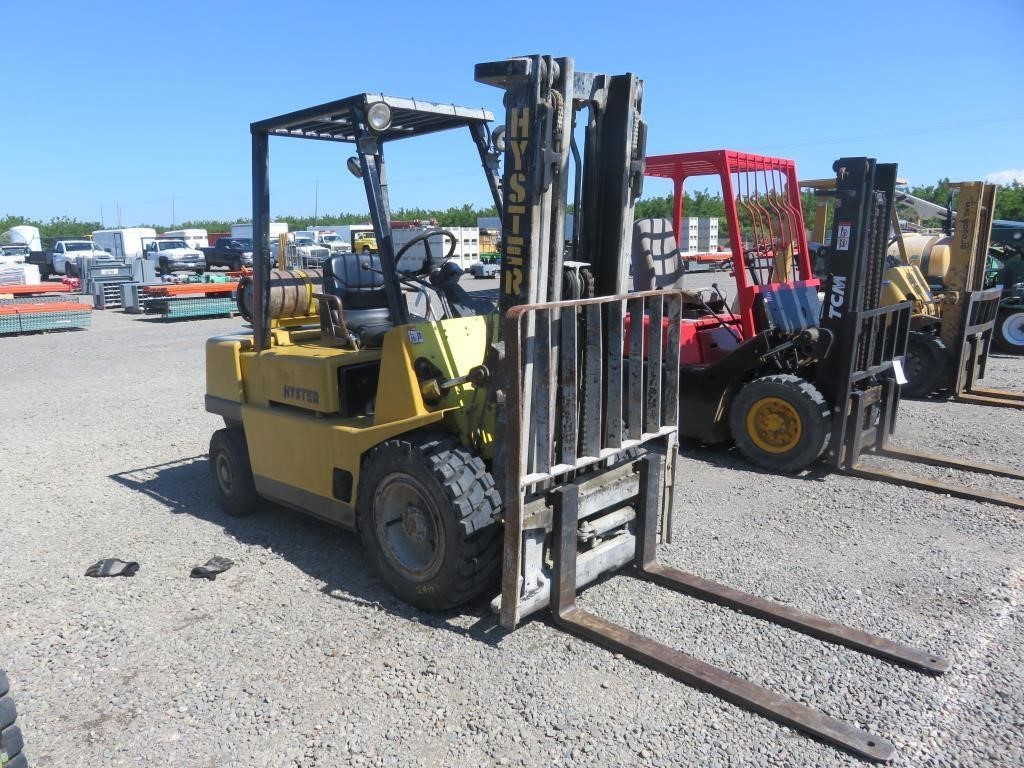 Hyster H50XL Fork Lift | BidCal, Inc  - Live Online Auctions