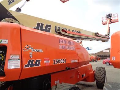 JLG 1500SJ For Sale - 21 Listings | MachineryTrader com - Page 1 of 1