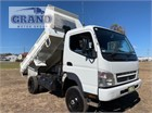 2010 Mitsubishi Canter 4x4 Crane Truck