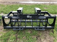 "72"" QA SS Double Cylinder Grapple -New"