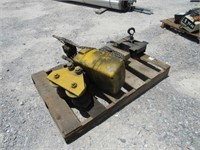 1 Ton Trolley Mounted Chain Hoist-