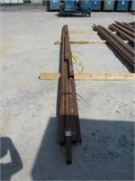 (qty - 6) Steel Square Tubing-
