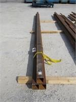 (qty - 3) 20' Steel Square Tubing-