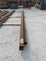 (qty - 3) Steel Square Tubing-