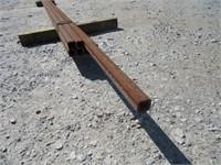 (qty - 7) Steel Square Tubing-