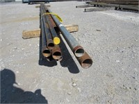 (qty - 10) Assorted Steel Pipe-