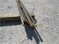 (qty - 14) Steel Pipe-