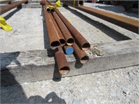 (qty - 11) Steel Pipe-