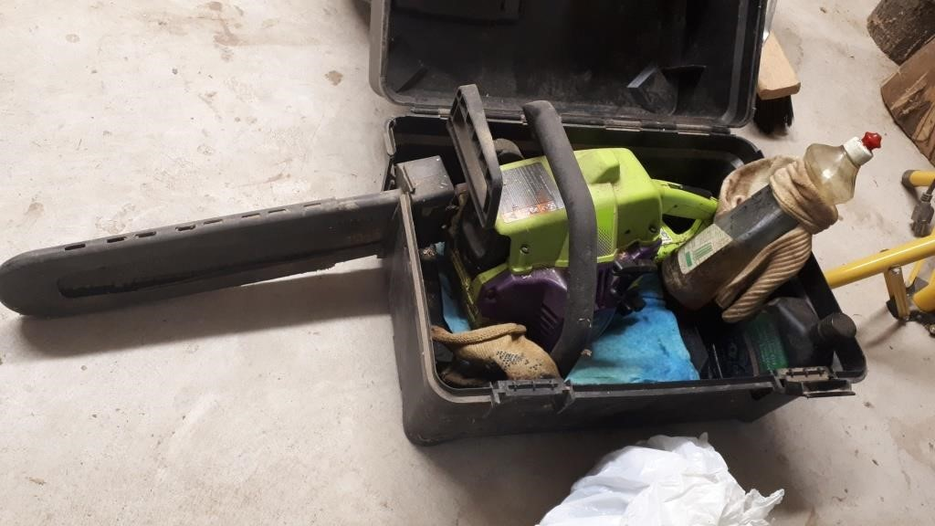Poulan Wild Thing Chainsaw With Case Great West Property Auctions