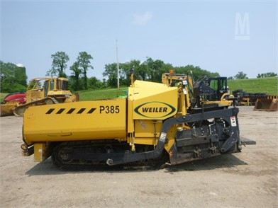 Weiler P385 Asphalt Paver Other Auction Results - 1 Listings