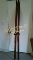 vintage FJelltroll cross country skis