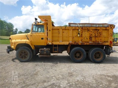 1997 Ford L8000 Dump Truck *Title* Other Auction Results - 1