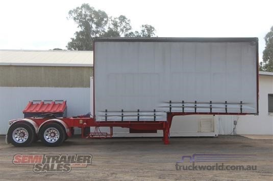 2004 Vawdrey 10 Pallet Curtainsider A Trailer With Mezz - Trailers for Sale